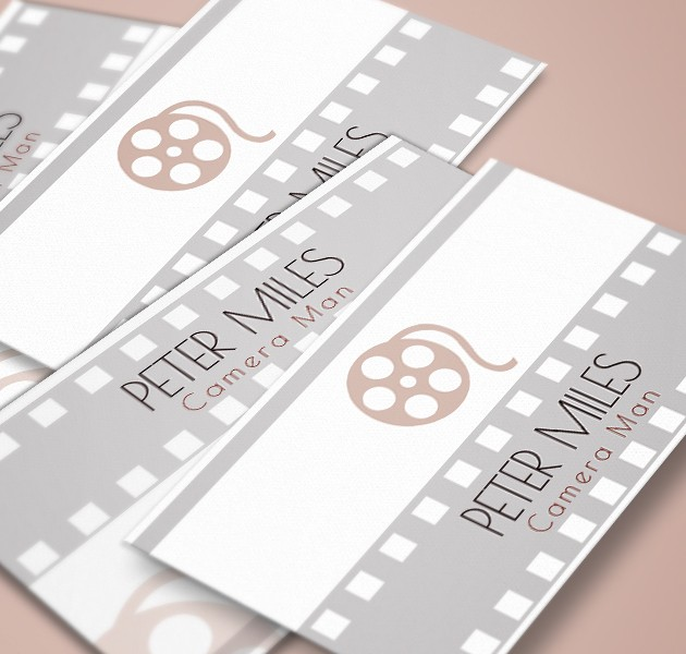 Filmmaker business card colourmoves