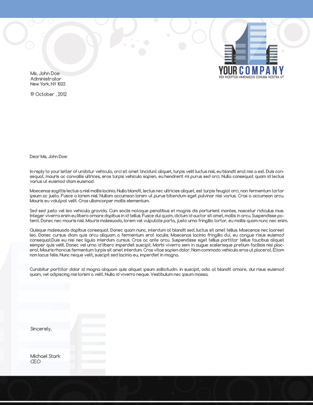 Architect letter template architect letter template 025previewzoom500 025 1 spiritdancerdesigns Choice Image