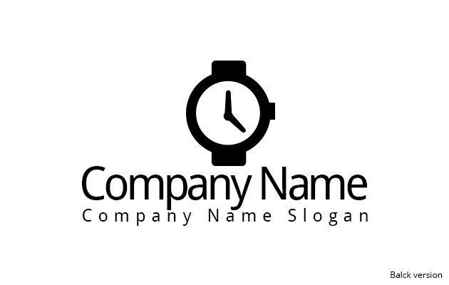 Watch Logo Template